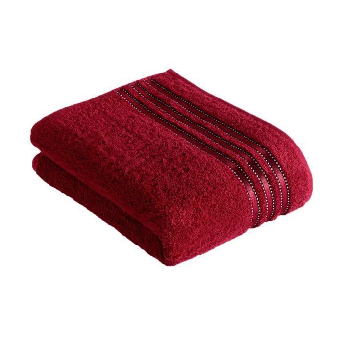 Vossen ręcznik Cult de luxe 390 rubin