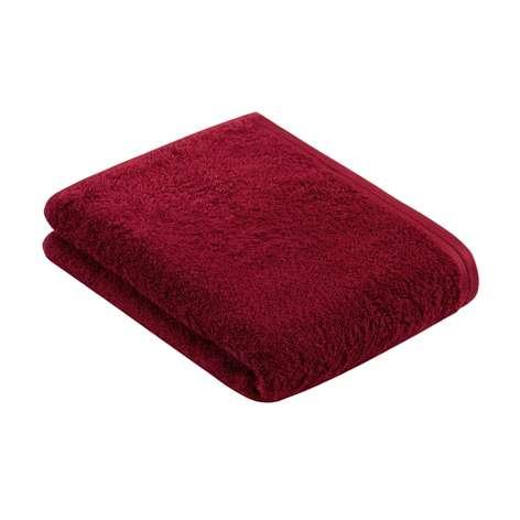 Vossen ręcznik Vegan Life 390 rubin