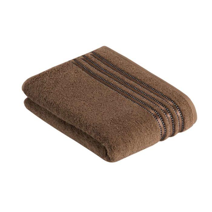 Vossen ręcznik Cult de luxe 669 nut brown